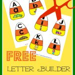 FREE Candy Corn Letter Puzzles