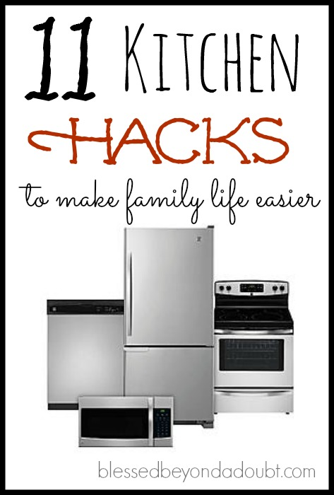 11 kitchen and appliance hacks to make family life easier