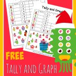 FREE Tally and Graph Worksheets – Christmas Edition