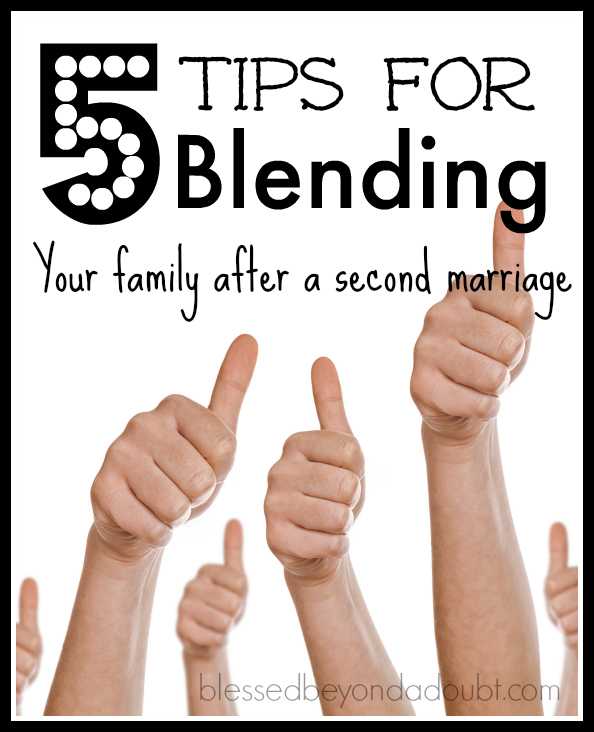 A blended family can be wonderful. Follow these 5 tips to make the transition easier for all.