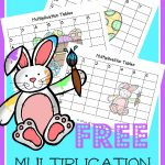 FREE Multiplication Grid Printables – Easter Themed