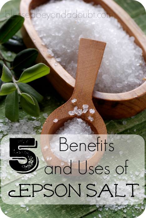 5 Benefits  and Uses of Epson Salt that you might not have thought of. Which one will you try first?
