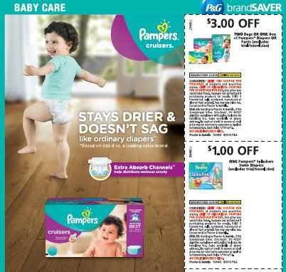 Heads UP! Pampers Coupon up to 3.00 OFF!