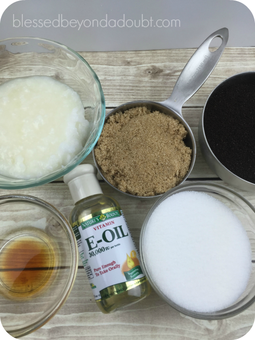 Coconut Coffee Sugar Scrub_ingredients