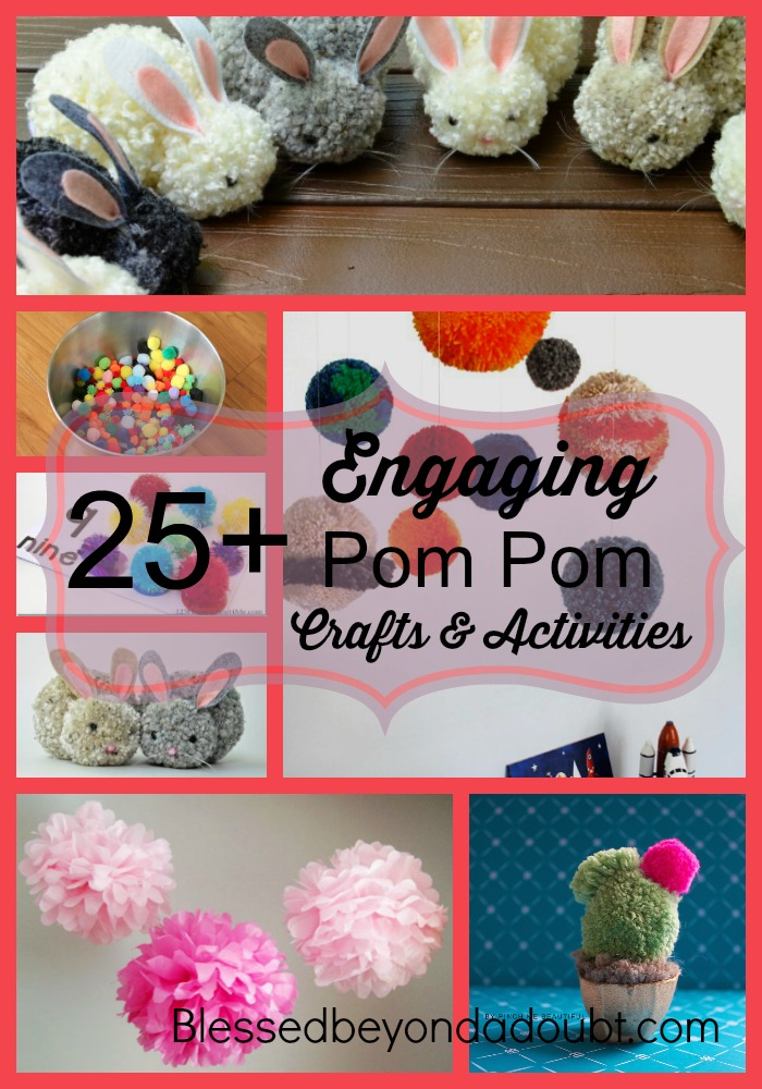 25+ Engaging Pom Pom Crafts and Activities For All Ages
