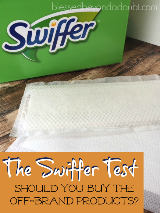 The Swiffer Test – Should you Buy Off-brand products?