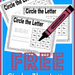 FREE Circle the Letter Printables