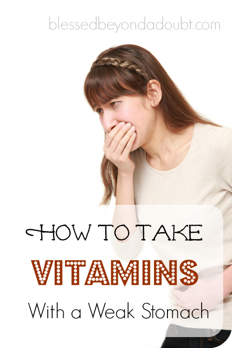 Do you have trouble taking vitamins due to an upset stomach, too? Try these 5 tips that have made a difference in my life.