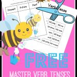 Learn Verb Tenses – FREE Printable