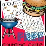 FREE Counting Cards – BBQ Edition!