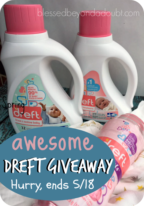 Learn how to keep your baby protected during the Spring allergy season. A must read for all moms. #DreftSpring  #ad