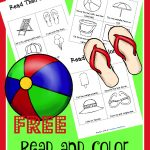 FREE Read and Color Printables – Summer Edition