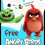 FREE Angry Birds Writing Prompts for Kids!