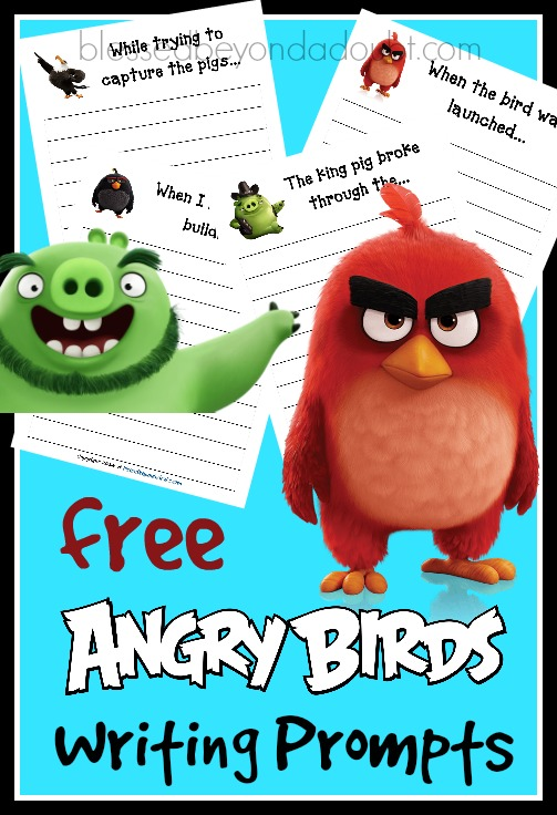 angry birds writing prompts