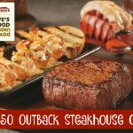 WIN a $50 Outback Steakhouse Gift Card!