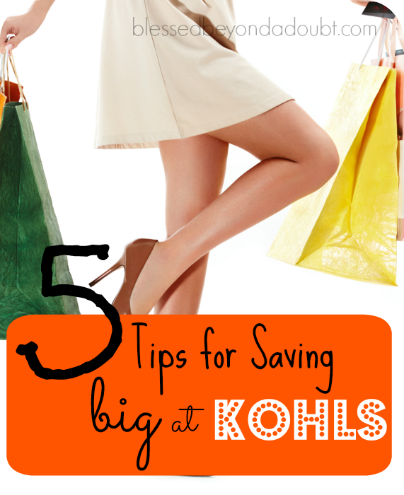 Are you a Kohl's shopper? If so, you can now save even more with these simple tips.