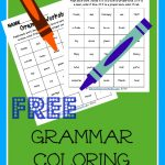 FREE Grammar Color Worksheets
