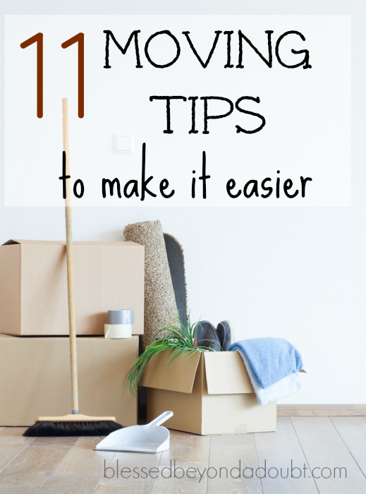 These 11 moving tips will make your next move smooth sailing. I have become an expert mover, however, not by choice.Check out #5.