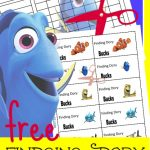 FREE Finding Dory Chore Chart!