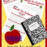 FREE Back to School Activity Printables!