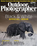 Hurry and grab Outdoor Photographer Magazine for only 3.49/1 year.