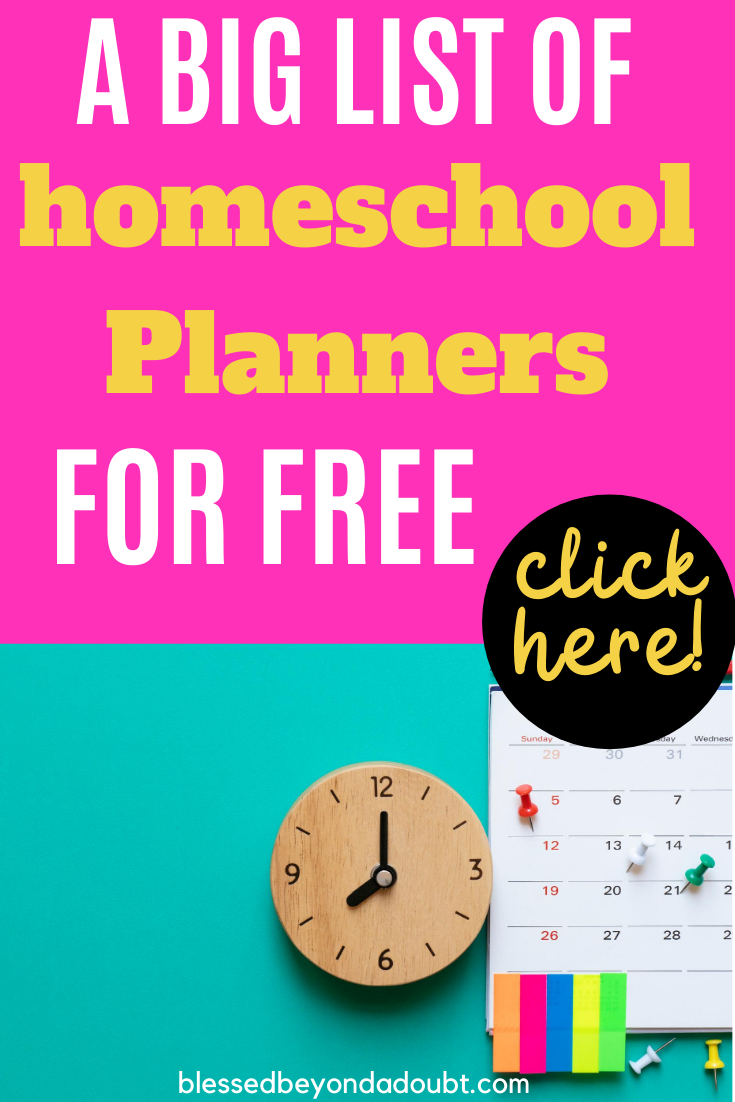 Here's the biggest list of free homeschool planners on the Internet. Which one will you chose?#freehomeschoolplanners #freehomeschoolprintablesplanners #homeschoolprintablesplanner #homeschoolprintablesplannerfree
