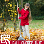 5 Fall Chores Your Kids Can Do to Earn Money!