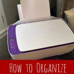 How to Organize those Printables for the School Year!