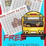 Your child can master multiplication with these free multiplication skip counting worksheets. Check out our favorite skip counting song.