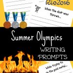 FREE Summer Olympics Writing Prompts for Kids!