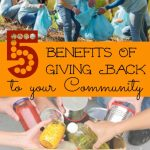 5 Benefits of Giving Back to Your Community