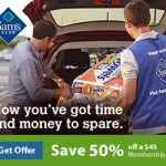 Save 50% off Sam's Club Membership!