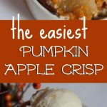 Pumpkin Apple Crisp Recipe