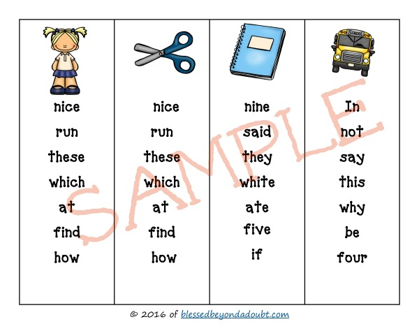 first-grade-sight-word-bookmarks_sample
