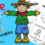 These are perfect for the students who are starting to read and adore coloring. Grab these free fall printables today!
