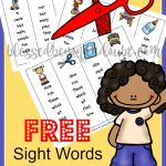 FREE First Grade Sight Words Bookmarks