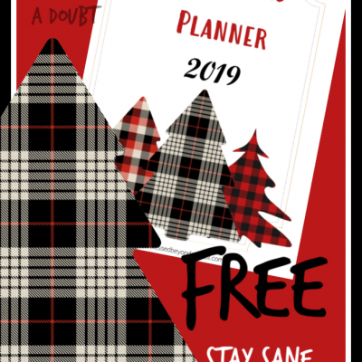 Free Christmas Planner Notebook that will Keep YOU SANE!