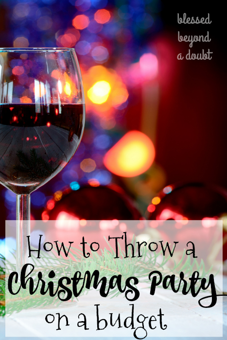 Don't get stressed out this holiday when planning a Christmas party. Check out how I managed to throw together a simple, but FUN party on a budget and I never stressed out. I kept things simple, and everyone had a blast. #12Stinks