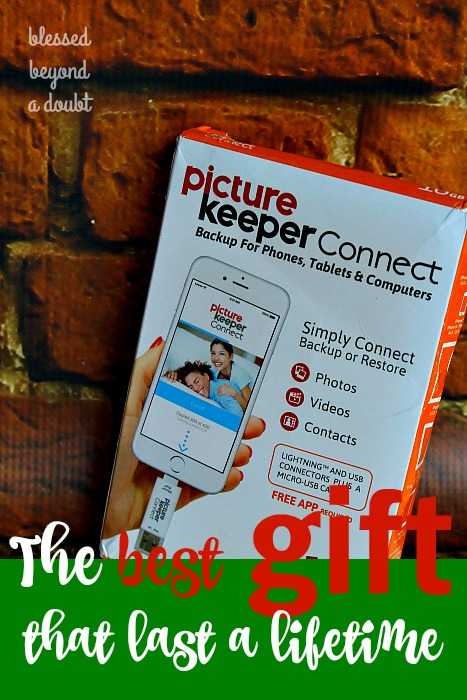 I am so excited that I can now simply restore my photos my phone to another device. It's the absolute awesome Christmas present for any busy mom. I give PictureKeepers a thumbs up. Win one today!