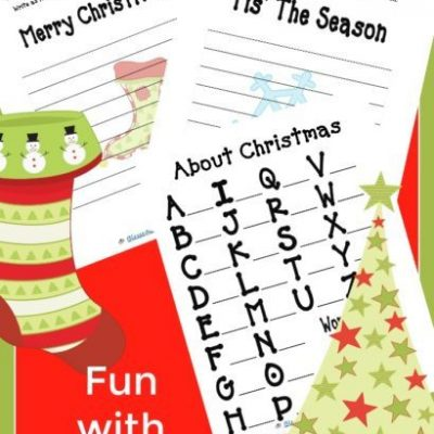 FREE Fun with Words – Christmas Edition