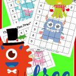 FREE Multiplication Grid Practice Worksheets – Christmas edition
