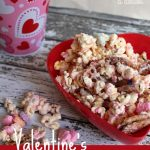 So EASY Microwaveable Valentine's Popcorn Mix