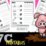 FREE CVC Word Worksheets!