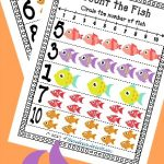 FREE Count the Fish Counting Cards!