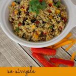 Easy Quinoa Salad with Cranberries and Walnuts