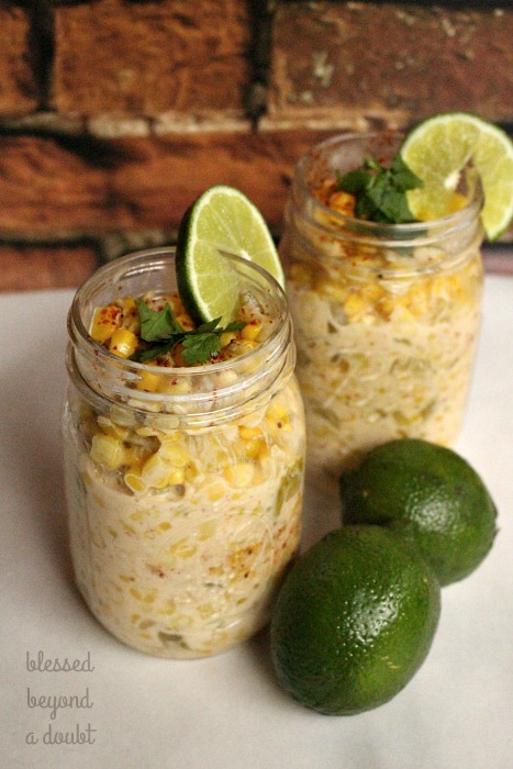 Easy to make Mexican Street Corn Recipe. It tastes like the real thing. Tweak it for your liking.