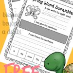 FREE Sight Word Activities with Sight Word Printable