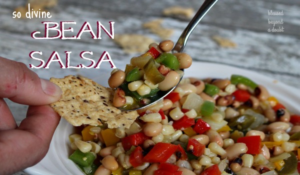 Zesty Bean Salsa Recipe with a Kick!