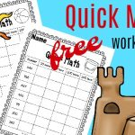 Quick Math Worksheets