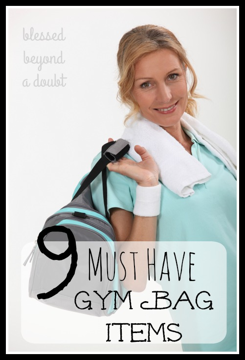 Part of being diligent when working out is to have your gym bag fully equipped with the essentials. Is your gym bag ready to go? Check out my 9 MUST HAVE gym bag items.